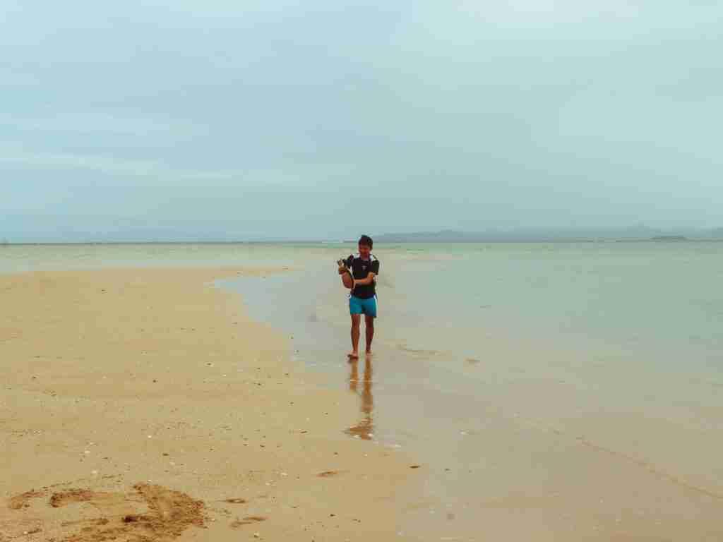 cotivas island white sandbar