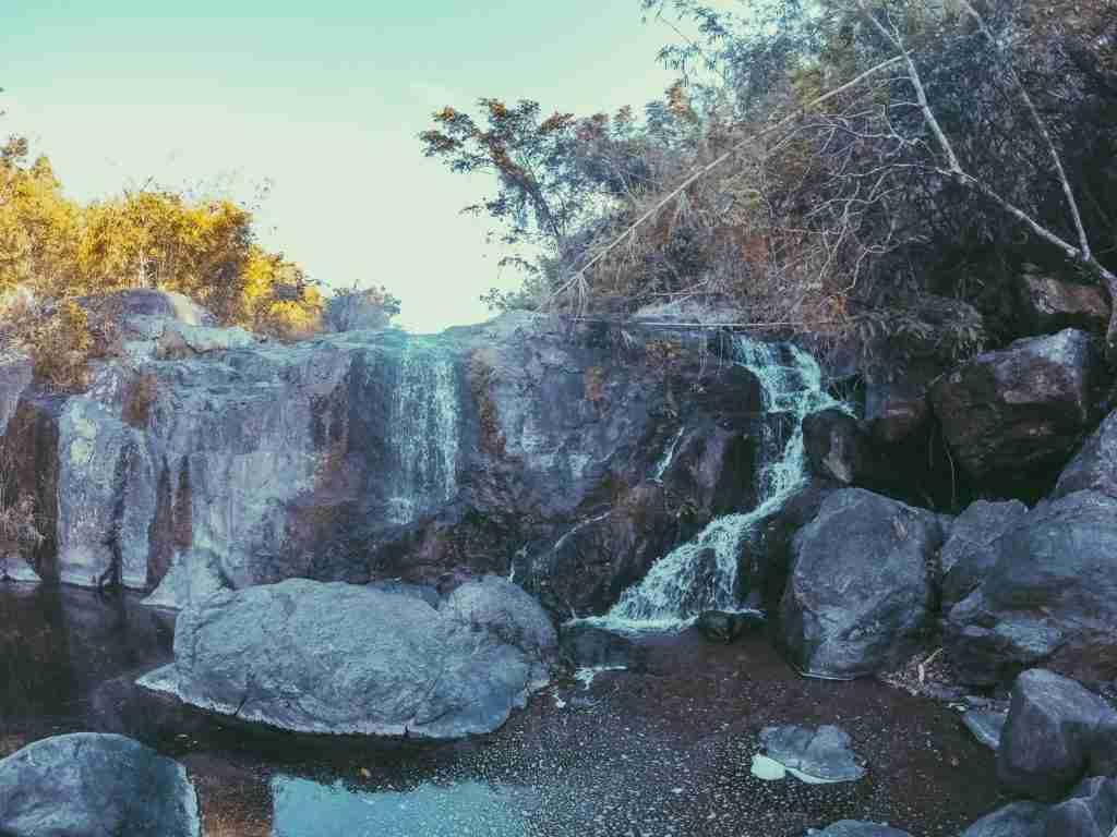 kay-ibon falls in mt. batolusong