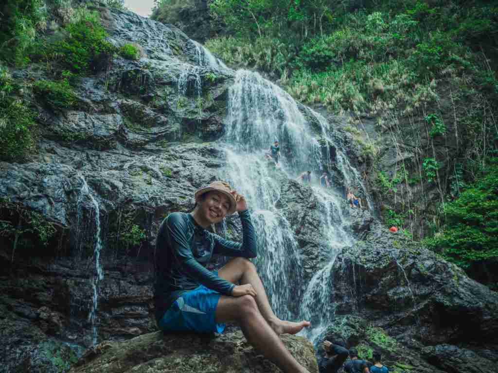 balagbag falls in real quezon