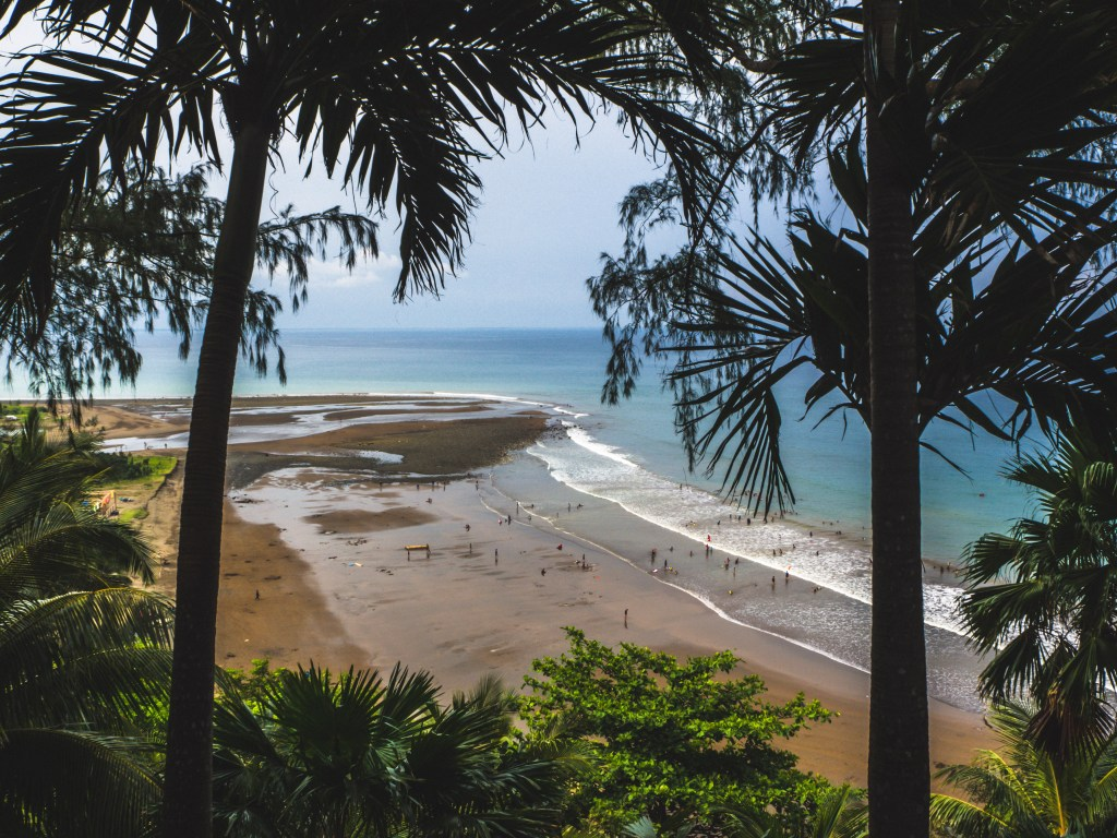 Magra Beach view from above