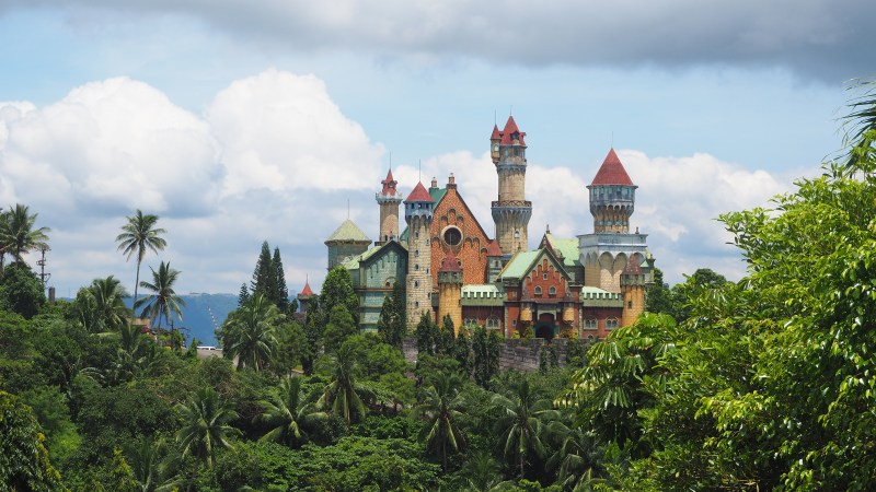 fantasy world castle in lemery batangas