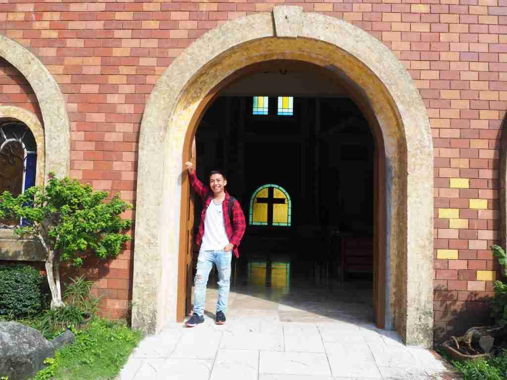 church door in fantasy world batangas
