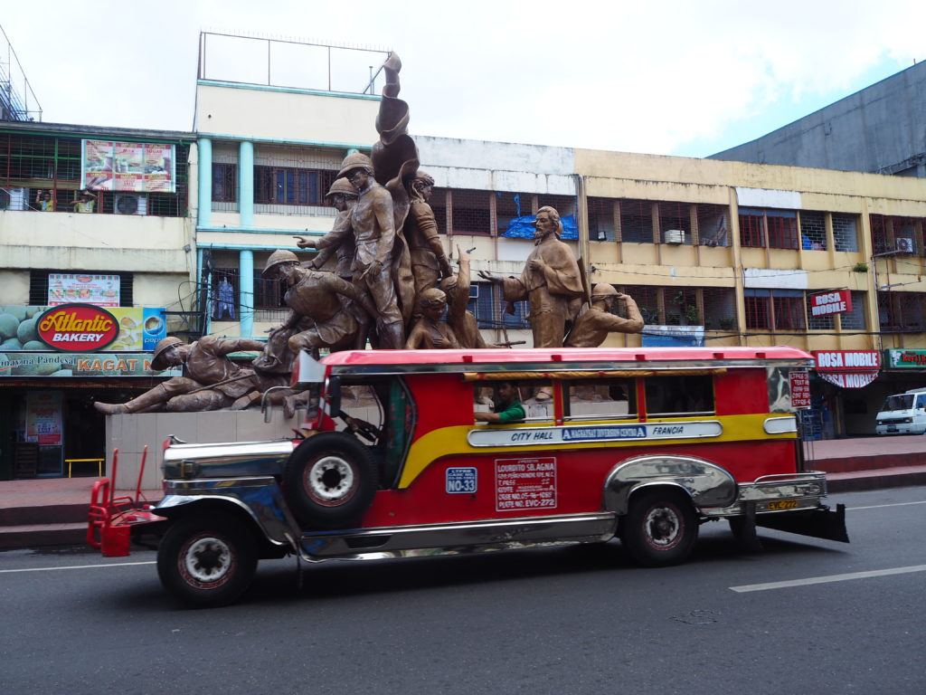 Plaza in Naga City for souvenirs