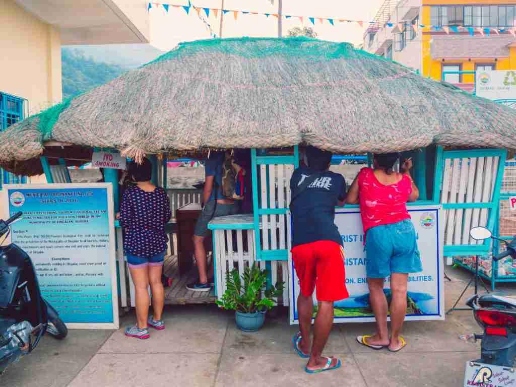 Tourism Information Desk of Dingalan