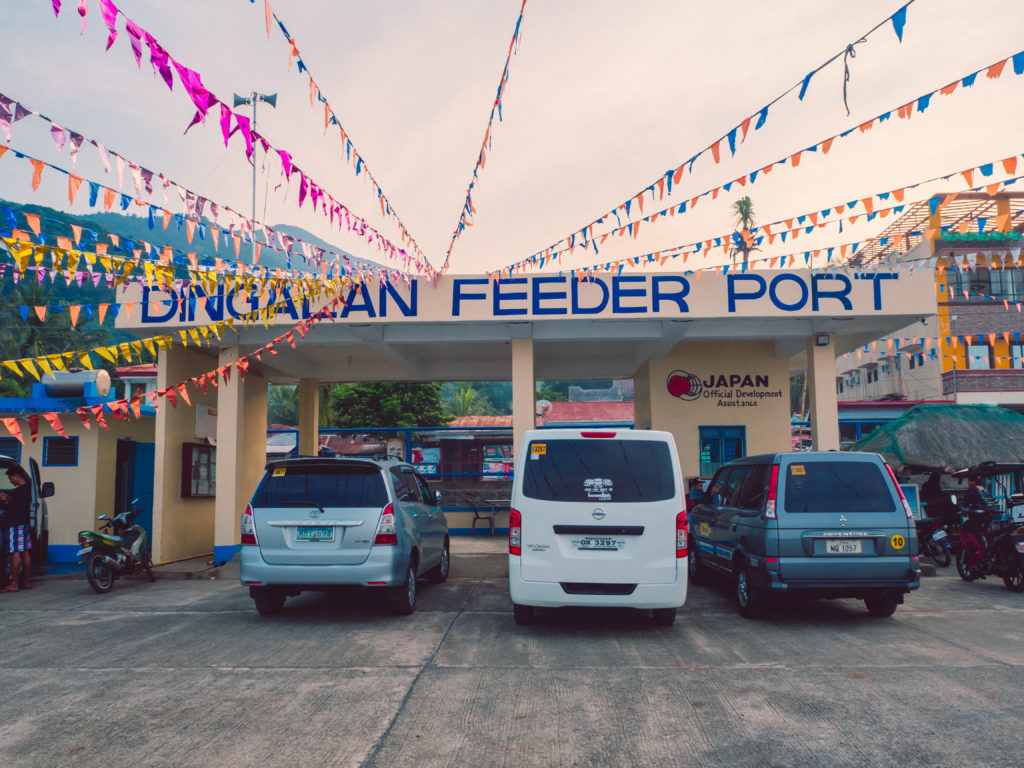 Dingalan feeder port