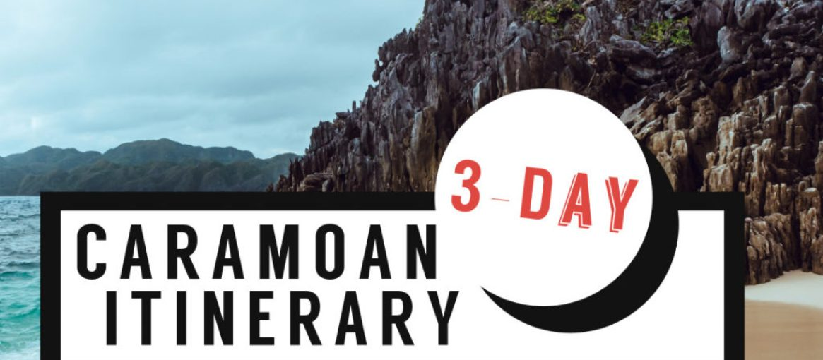 3-day caramoan itinerary