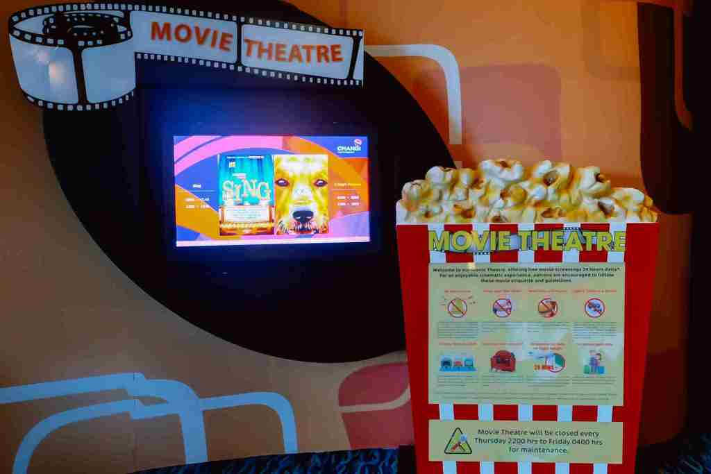 movie theatre in changi airport