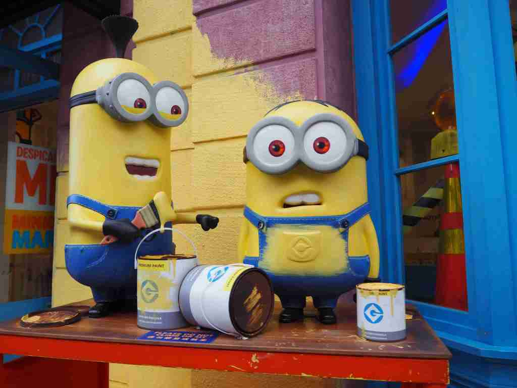 minions store in universal studios singapore