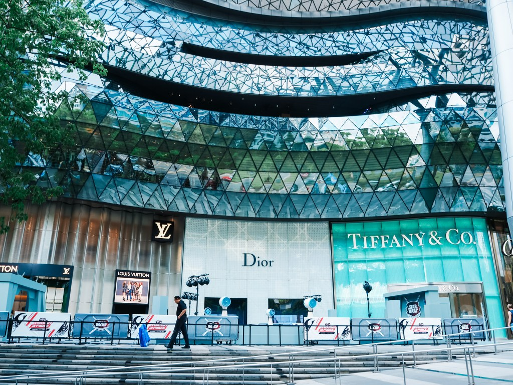 expensive boutiques in orchard street singapore