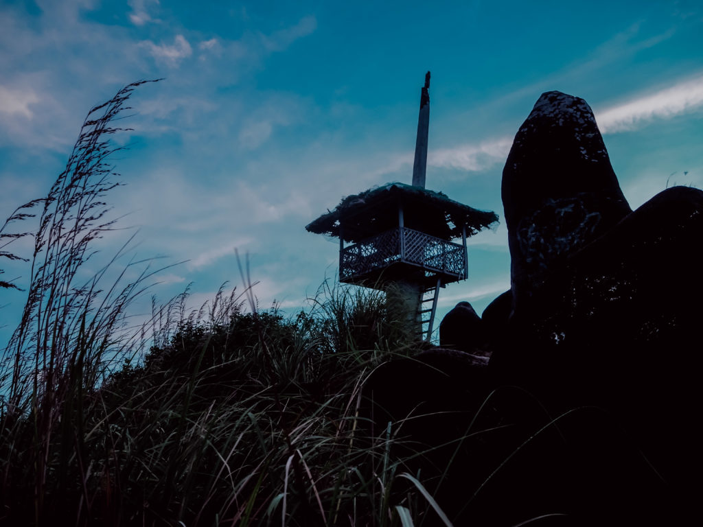 Watch tower on top of sambawan island