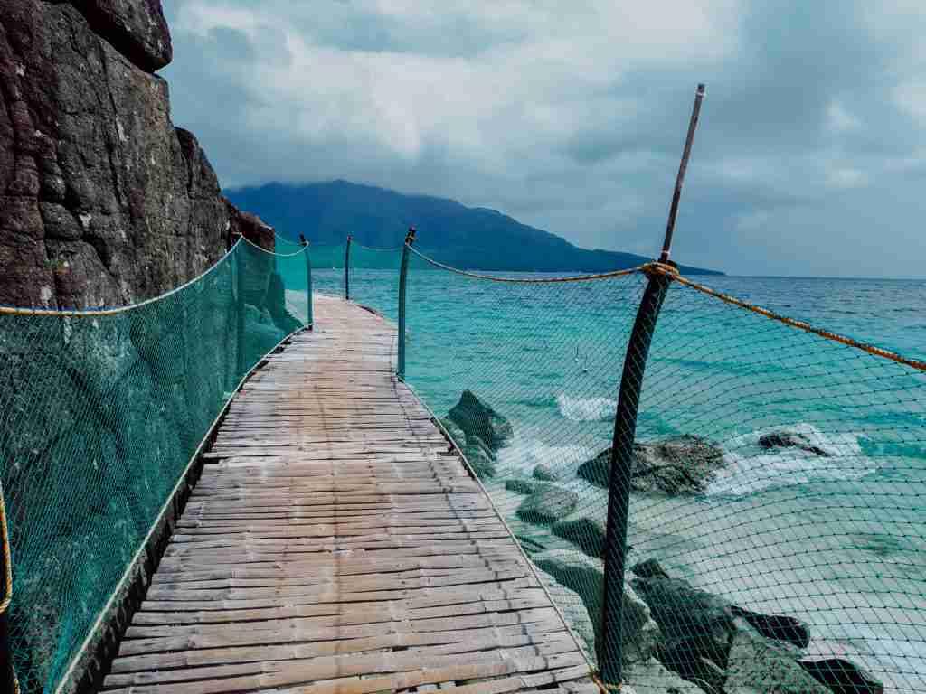 Sambawan Island way to cottage