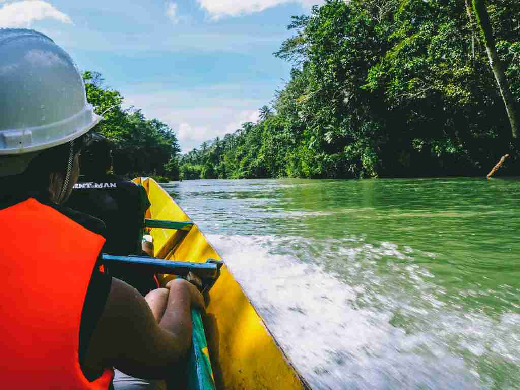 lush green tranquil and picturesque Samar Island Natural Park