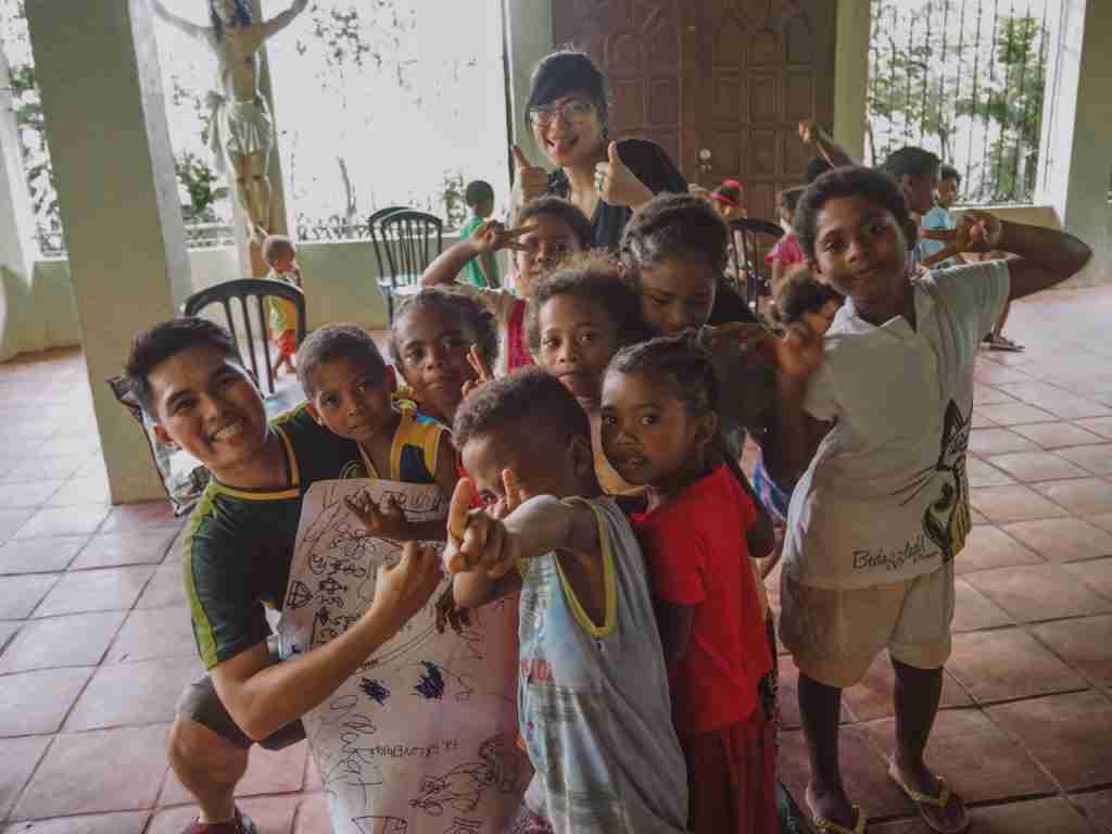Volunteer experience with the Aeta community in Pampanga