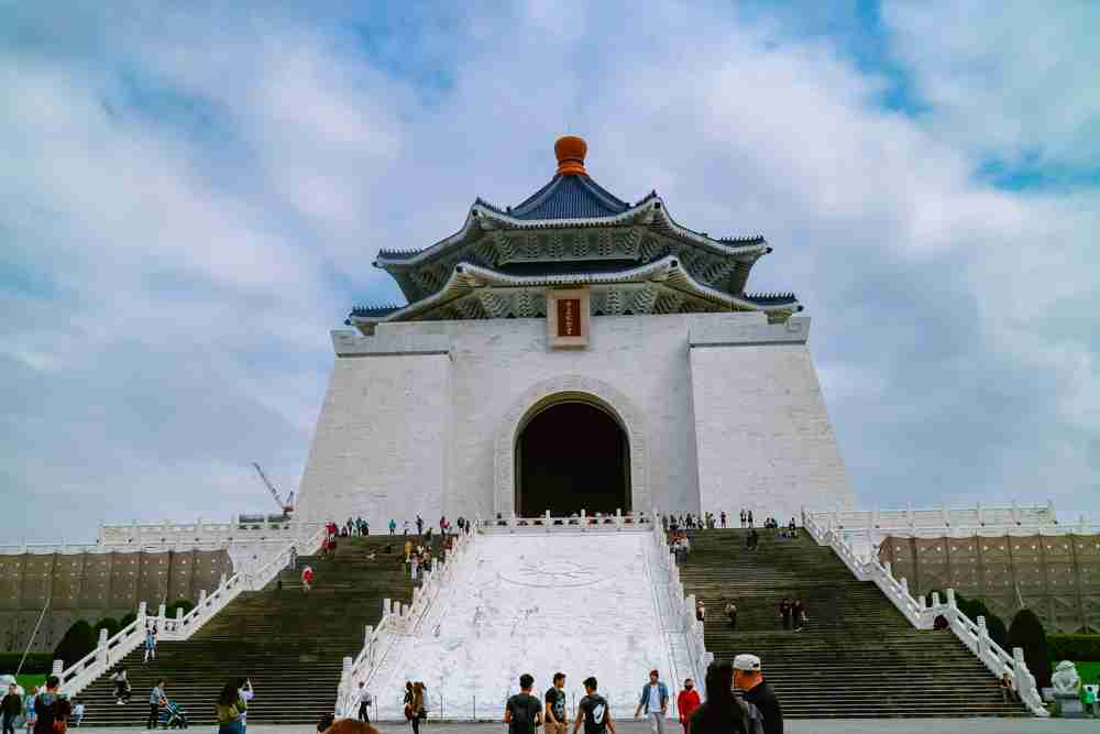 6 days Taiwan travel guide and itinerary Chiang Kai-shek memorial hall 89 steps