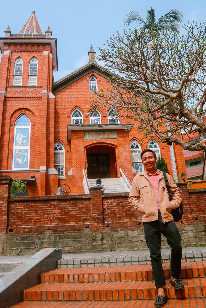 Tamsui Church in Tamsui Old Street
