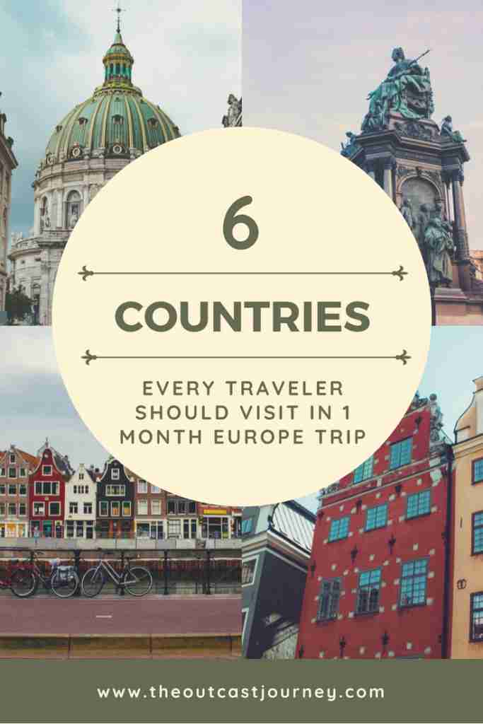 Ultimate Bucket List: 6 Countries Every Traveler Should Visit in 1 Month Europe Trip