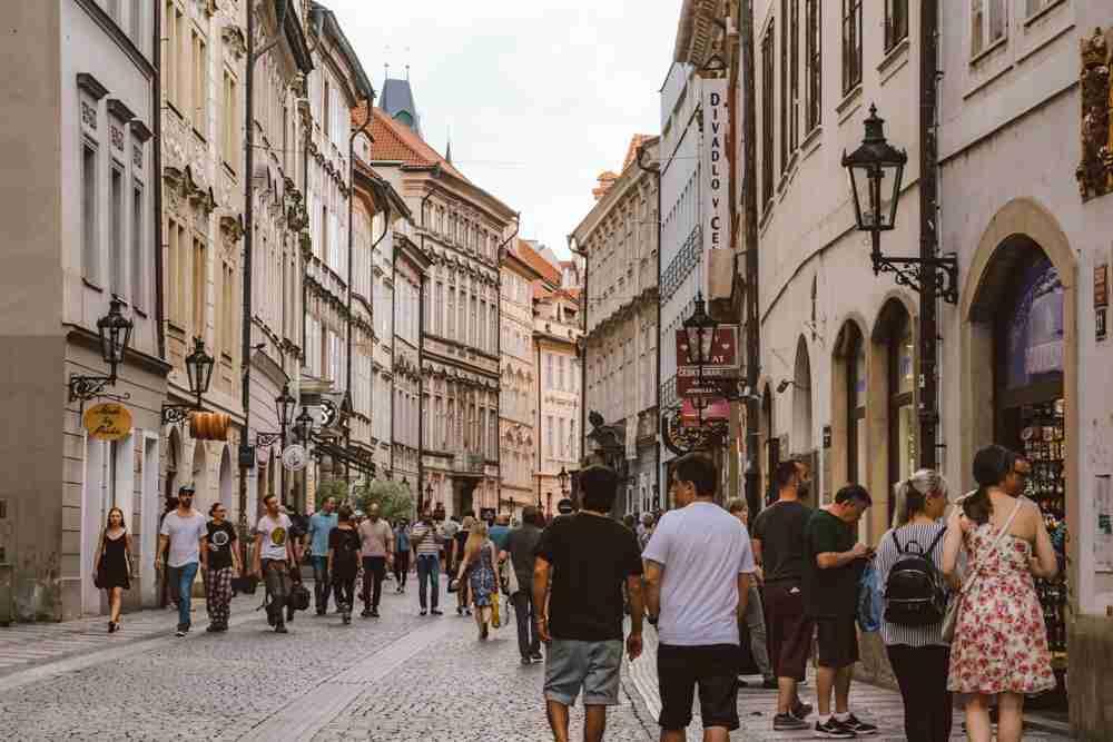1 month europe trip prague streets