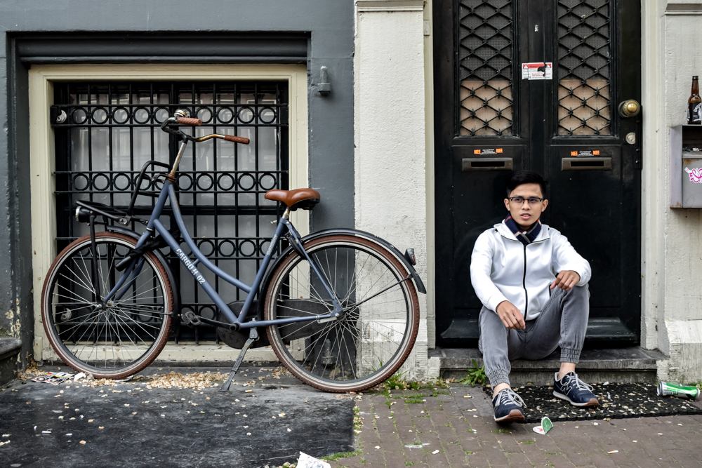 amsterdam in a day, bicycle tour