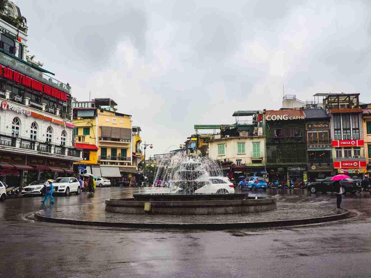 north vietnam travel itinerary Kinh Nghia Thuc Square