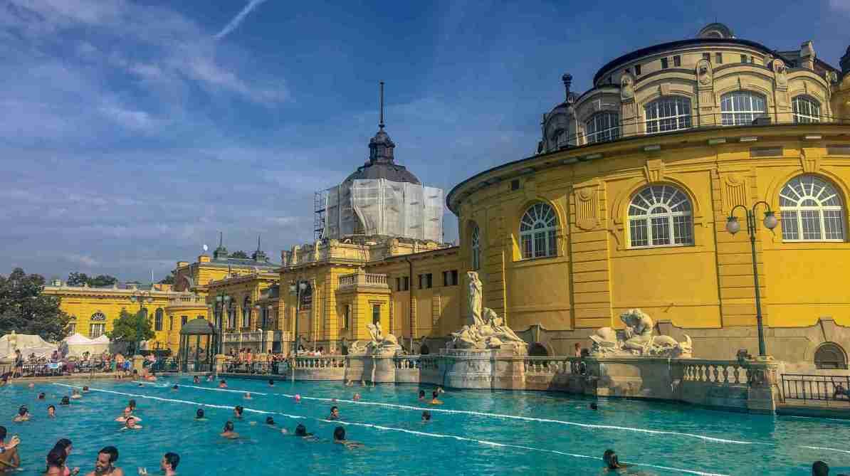 Szecheyni Baths Budapest