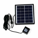 Soonhua small solar powered pond and fountain pump