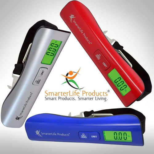 SmarterLife Products Digital Luggage Scale