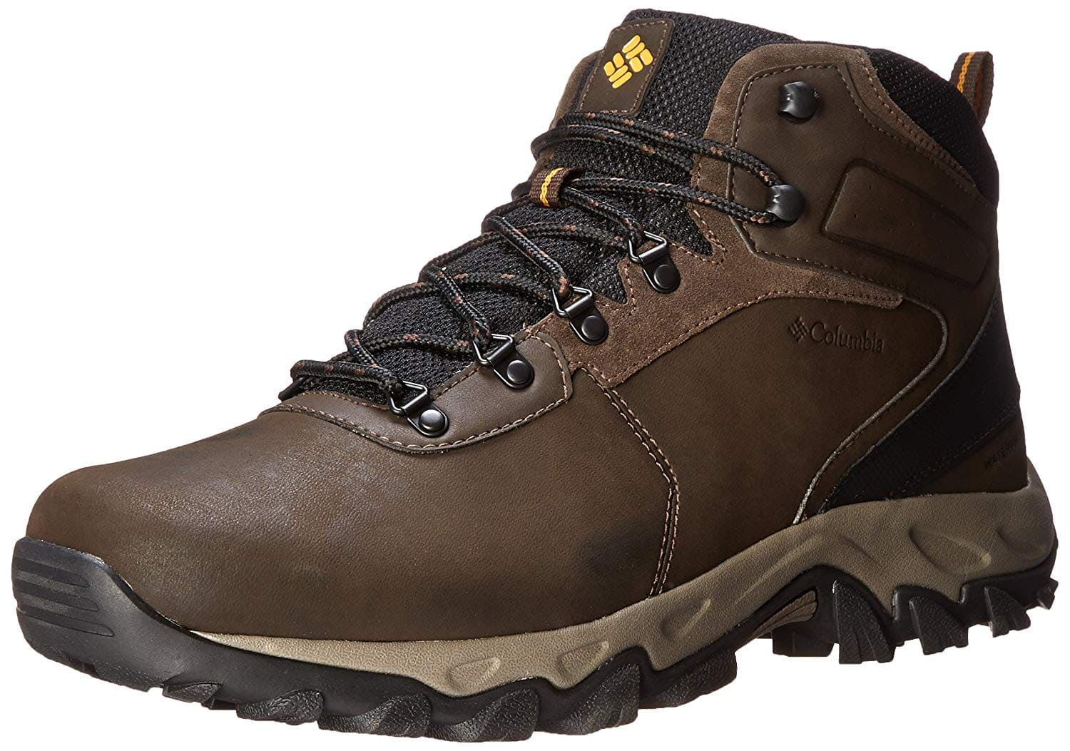 Columbia Men's Newton Ridge Plus II Waterproof Hiking Boot Side