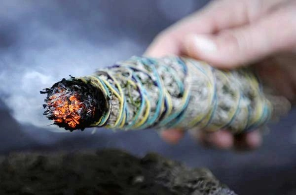 Burn sage in campfires to keep mosquitoes away
