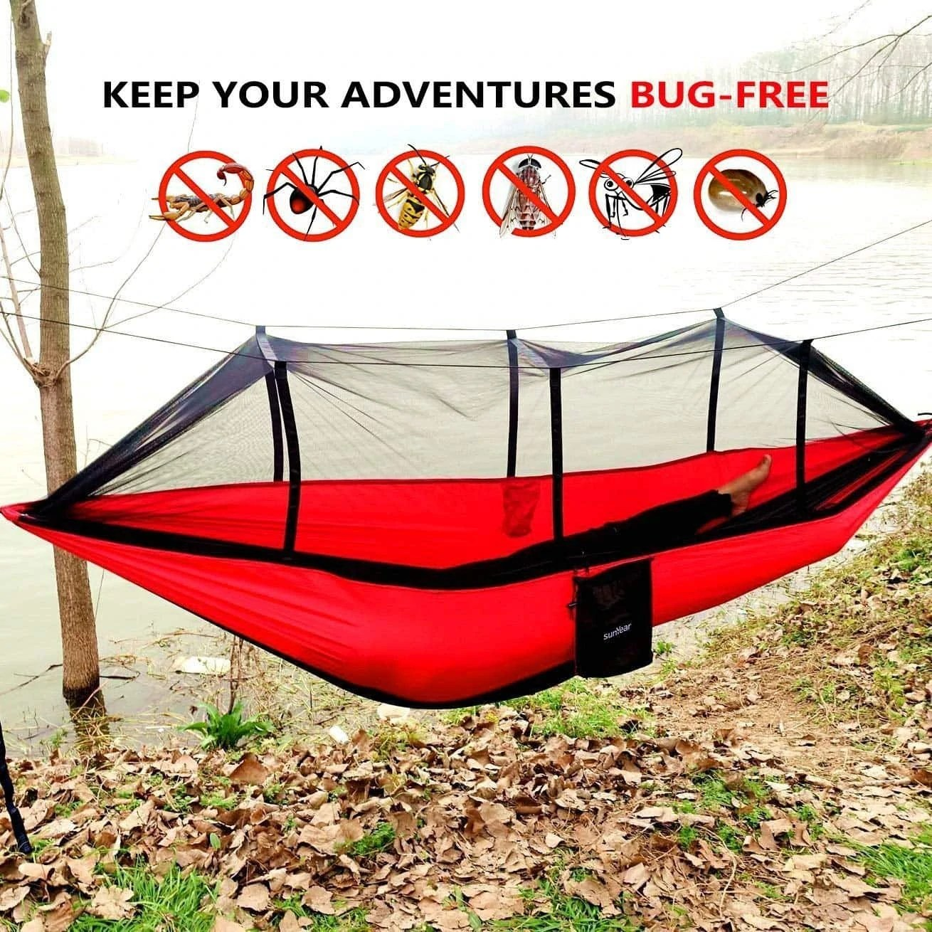 Best Hammock With Mosquito Net