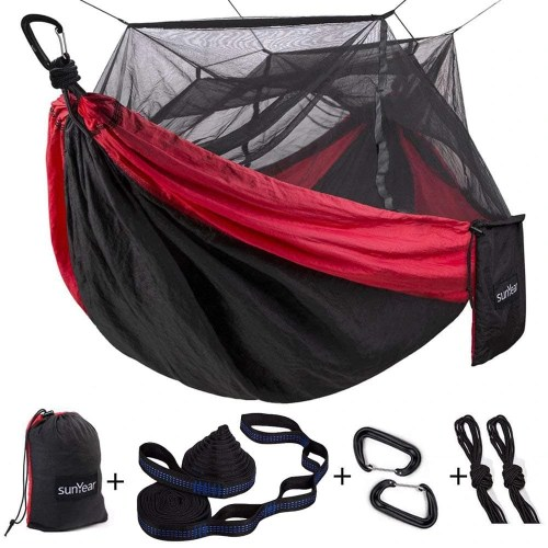 Sunyear Hammock with Mosquito Net
