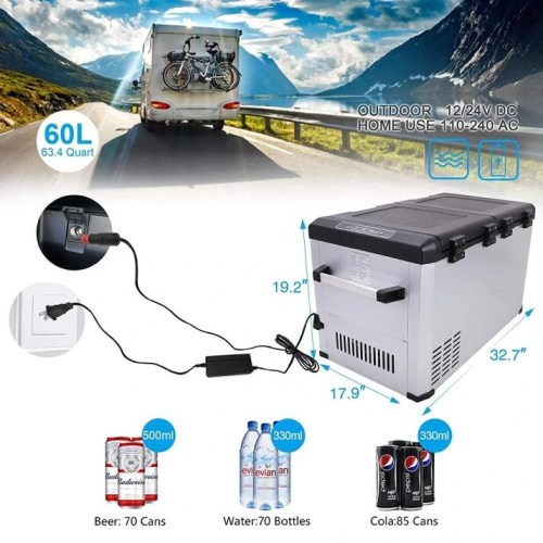 CIGREEN Compressor Portable Camping Fridge