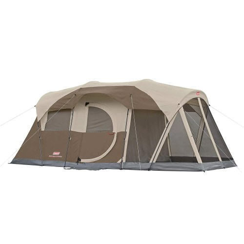Coleman WeatherMaster 6-Person 3 Room Tent