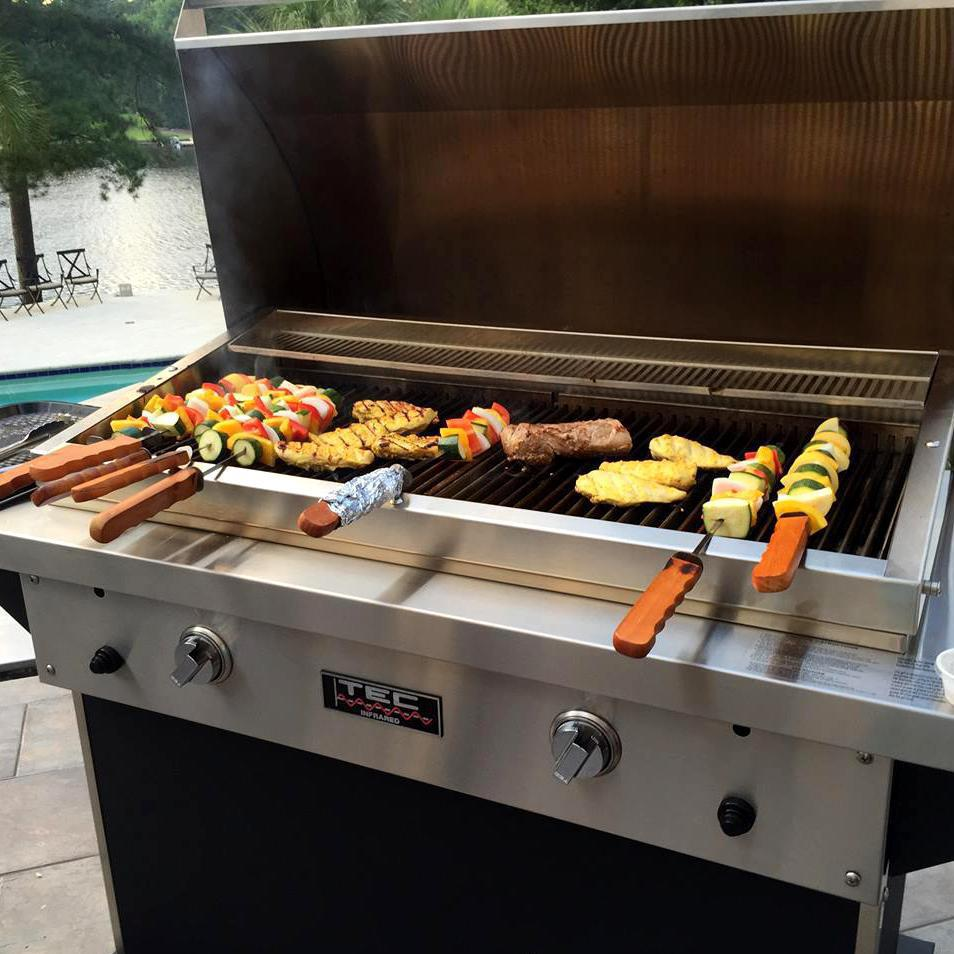 TEC Patio FR 44-Inch Freestanding Infrared Grill  The ... on Outdoor Grill Patio id=68474