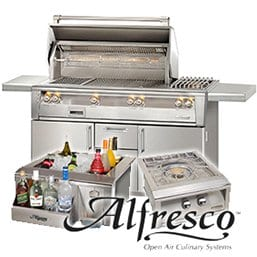 alfresco brand at the outdoor store
