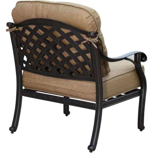 Darlee Nassau 5 Piece Patio Fire Pit Conversation Seating Set