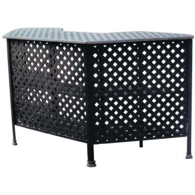 Darlee Series 30 Cast Aluminum Patio Party Bar