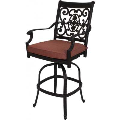 Darlee St. Cruz Patio Swivel Bar Stool