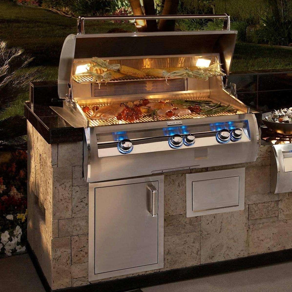 Fire Magic Echelon Diamond E790i 36-Inch Built-In NG Grill on Built In Grill Backyard id=11520