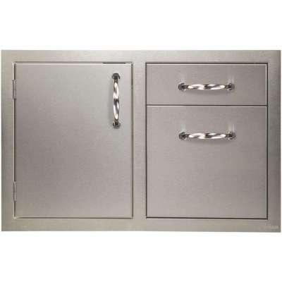 Artisan 32-Inch Access Door Double Drawer Combo
