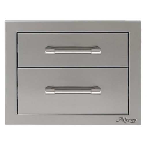 Alfresco 17-Inch Double Access Drawer