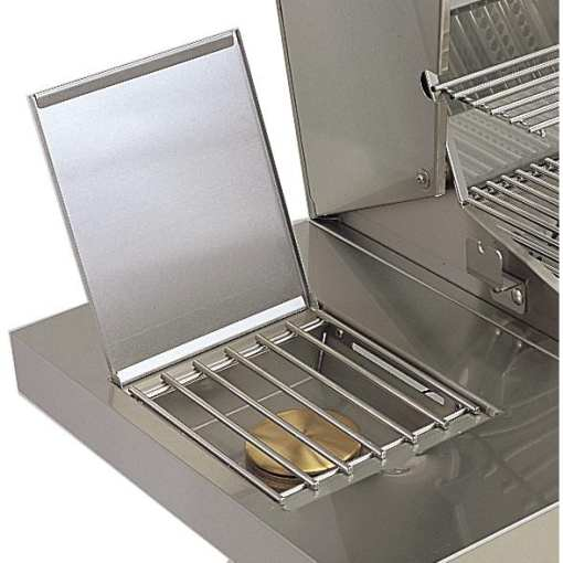 American Outdoor Grill 30-Inch 3-Burner Gas Grill - Built-In Single Side Burner