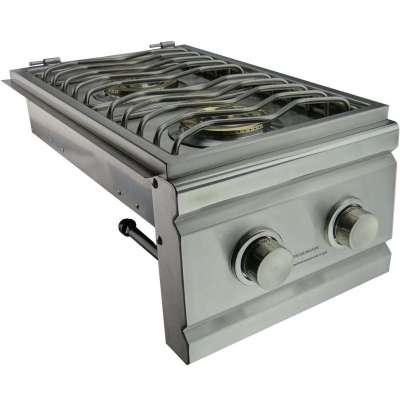 RCS Propane Gas Double Side Burner