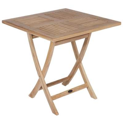 Royal Teak Collection Medium Sailor Square Folding Table