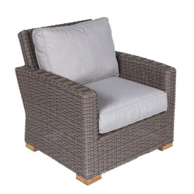 Royal Teak Collection Sanibel Wicker Club Chair