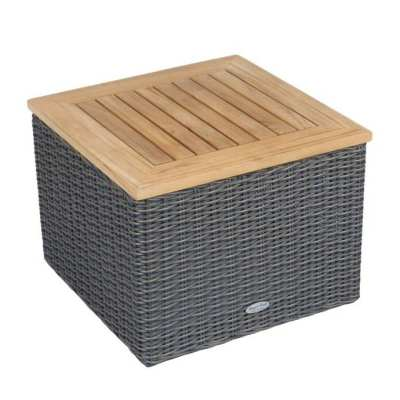Royal Teak Collection Sanibel Wicker Side Table