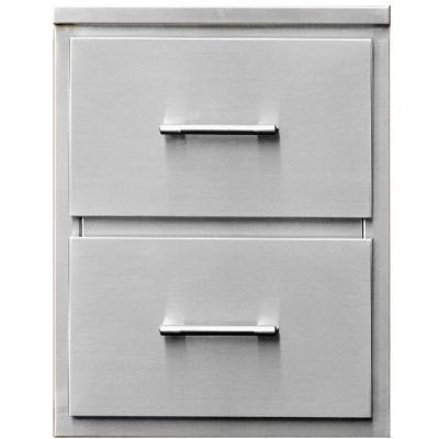 TEC 18-Inch Stainless Steel Double Drawer