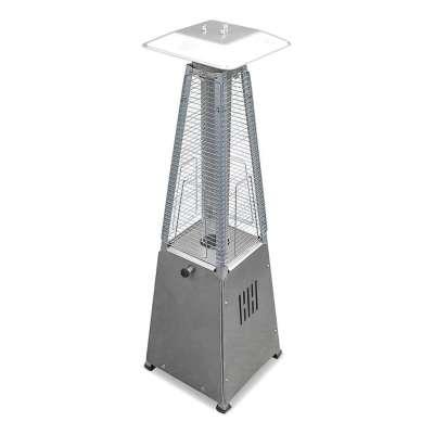 AZ Patio Heaters 39-Inch Steel Table Top Glass Tube Heater