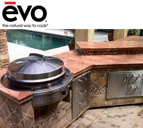evo grills at the outdoor store