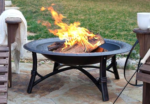 outdoor fire pits at the outdoor store