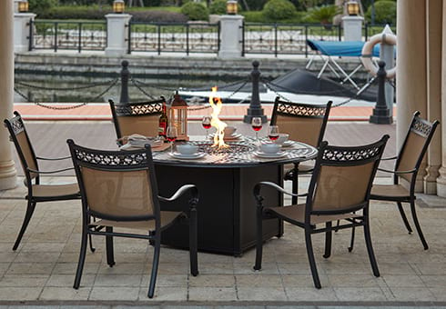 outdoor fire pit sets at the outdoor store